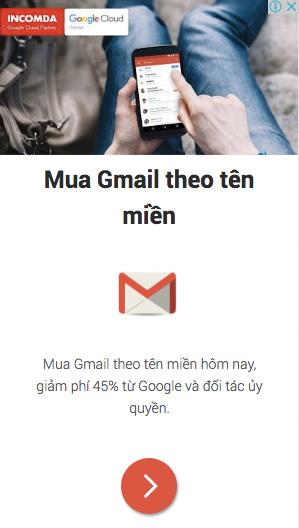 Dịch vụ email doanh nghiệp theo tên miền riêng Google